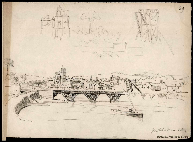 Pontevedra. 1881. Rafael Monleón y Torres