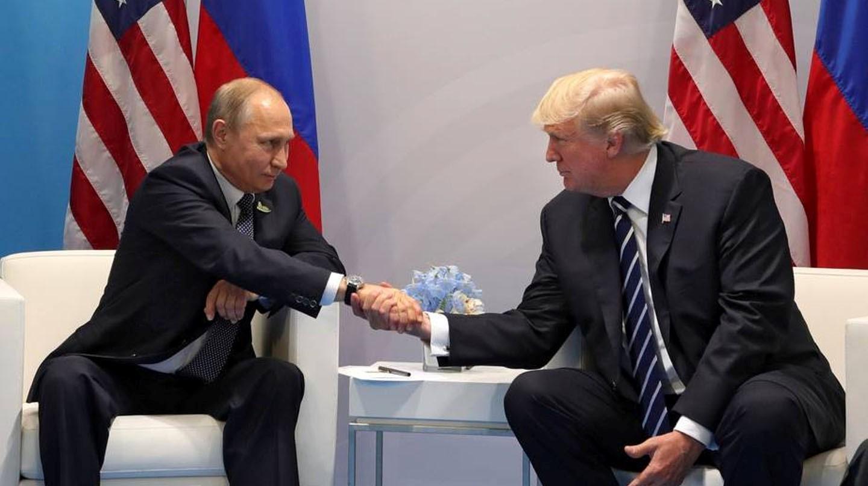 Vladimir Putin y Donald Trump en su reunión en el G20 hace un año.
