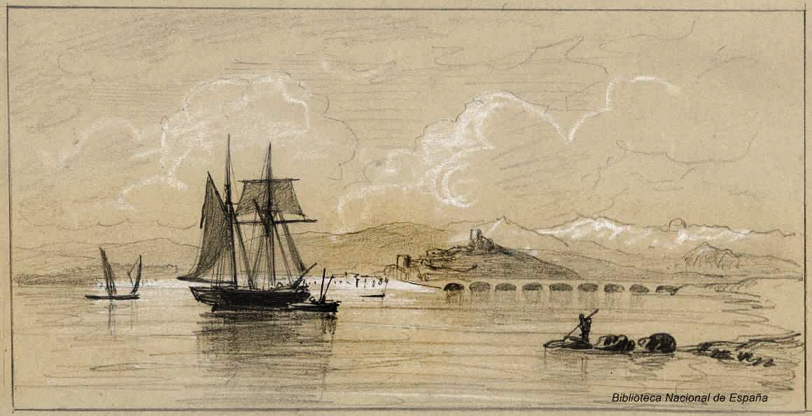 San Vicente de la Barquera y Picos de Europa. 1875. Rafael Monléon y Torres