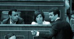 Casado, ante Santamaría y Maillo en el Congreso.