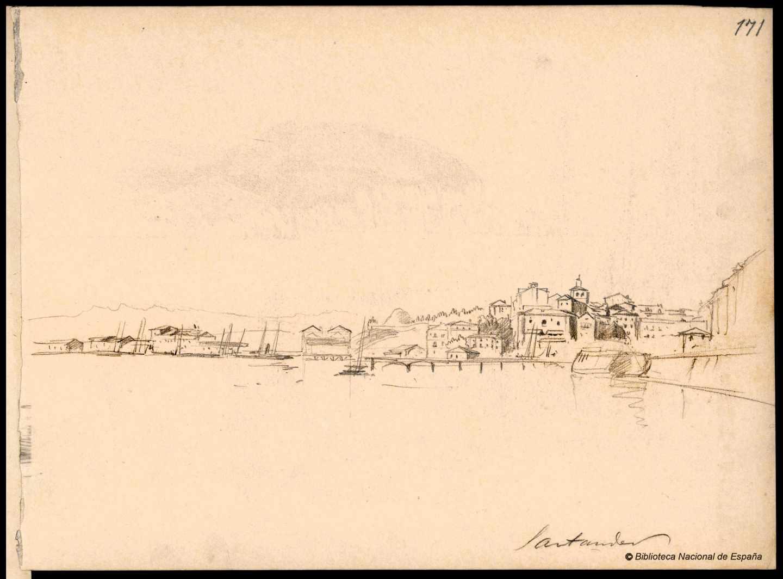 Santander. 1843-1899. Rafael Monleón y Torrs