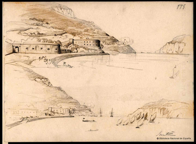 Santoña. 1843-1899. Rafael Monleón y Torres