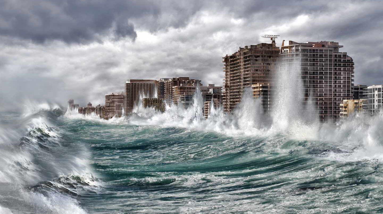 Simulación de Greenpeace de inundación en Miami,