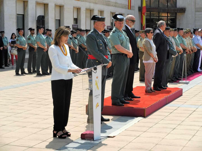 Toma de posesión del jefe de la Guardia Civil en Catalunya Pedro Garrido