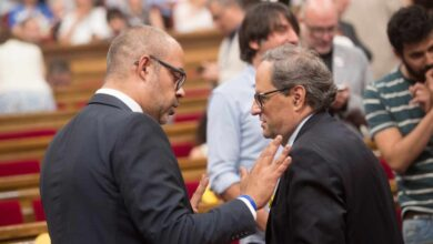Presidencia atribuye a Buch la iniciativa de crear un cuerpo de escoltas para Torra