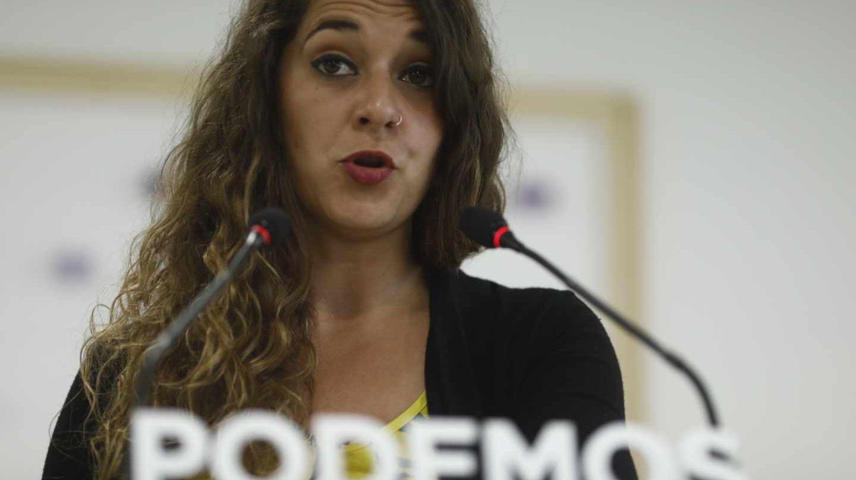 Noelia Vera, diputada de Podemos.