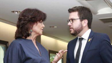 Bronca entre ERC y JxCat por los contactos de Aragonés con el Gobierno