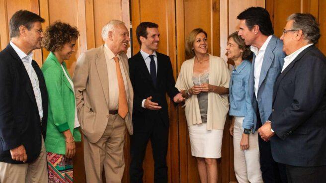 Catalá, Monserrat, Margallo, Casado, Cospedal, Tejerina, Soria y Zoido.