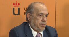 Enrique Álvarez Conde, catedrático de Derecho Constitucional y principal imputado del 'caso máster'.