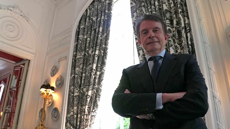 Antonio catalán, presidente de AC Hoteles