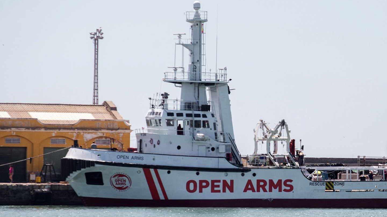 El buque de rescate humanitario Proactiva Open Arms.