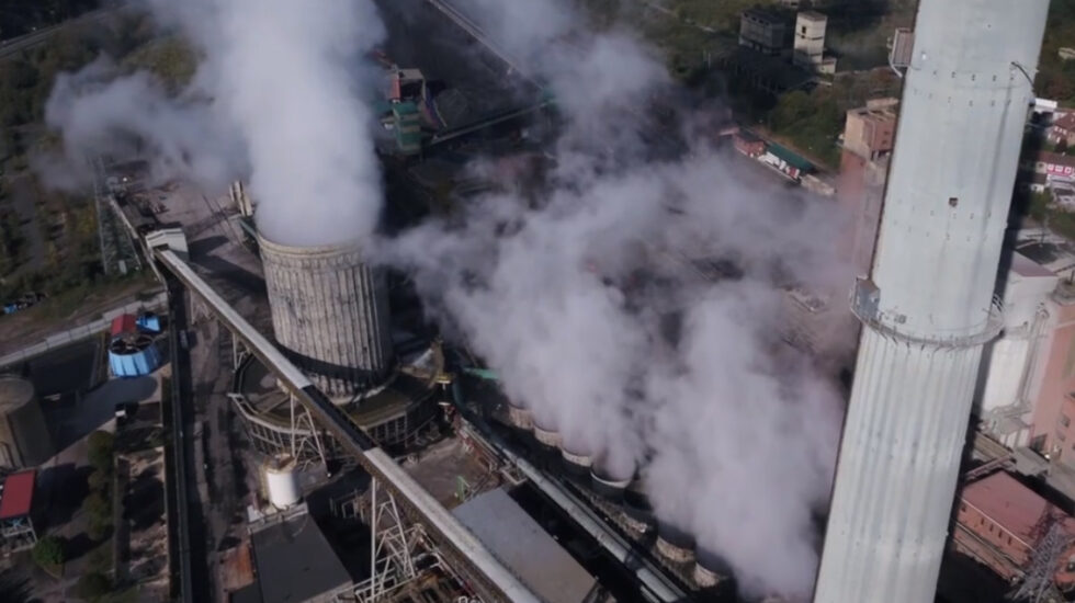 La central térmica de Lada, gestionada por Iberdrola.