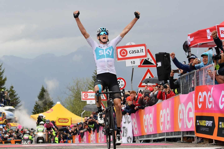 El ciclista Chris Froome.