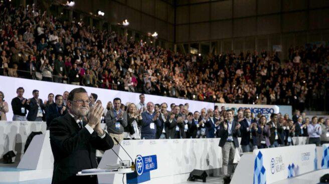 Mariano Rajoy, en el congreso nacional del PP del año pasado.
