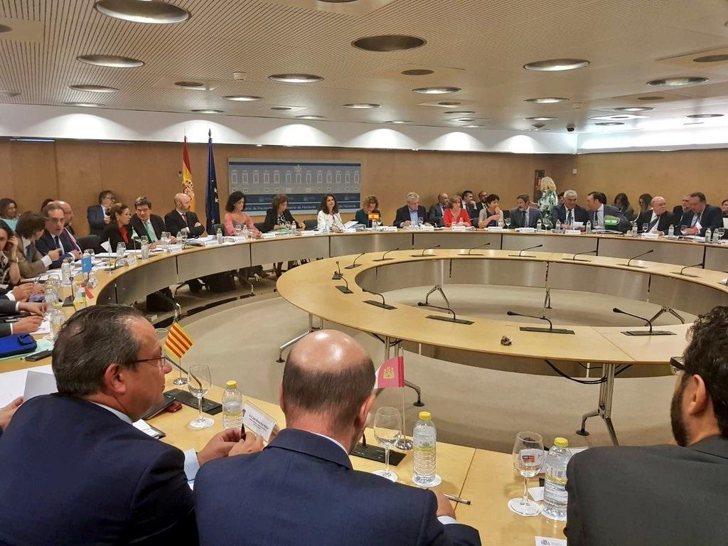 Reunión del Consejo de Política Fiscal y Financiera (CPFF).