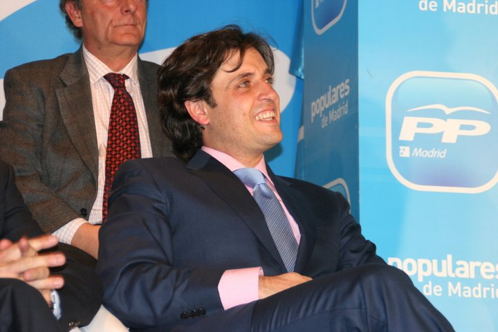 Daniel Pérez Muñoz, alcalde de Galapagar.