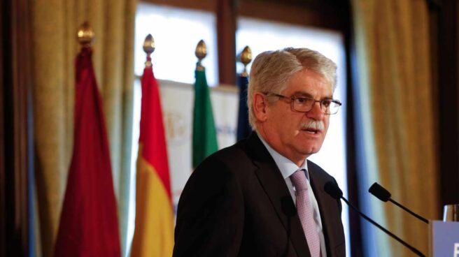 El ex ministro de Exteriores Alfonso Dastis.
