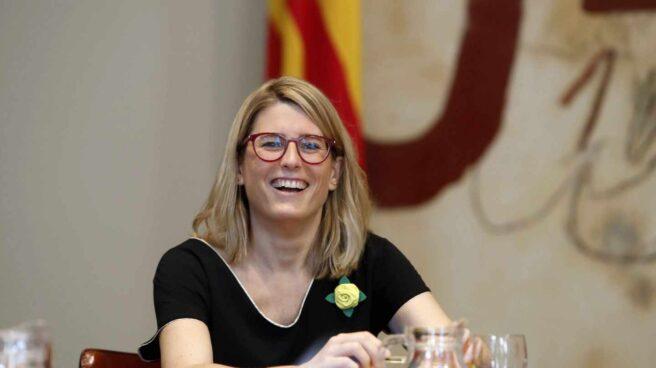 La consellera de la Presidencia y portavoz, Elsa Artadi.