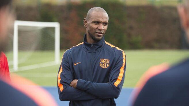 El ex jugador del FC Barcelona Eric Abidal.