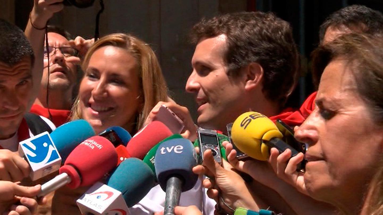 Pablo Casado en Pamplona