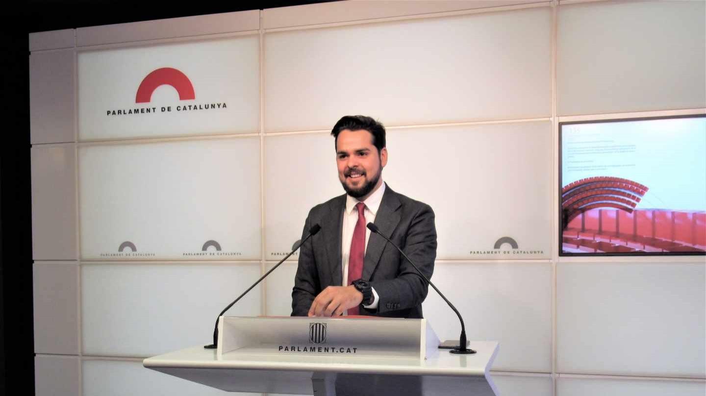 El ya ex diputado de Ciudadanos en el Parlament de Cataluña, Fernando de Páramo.