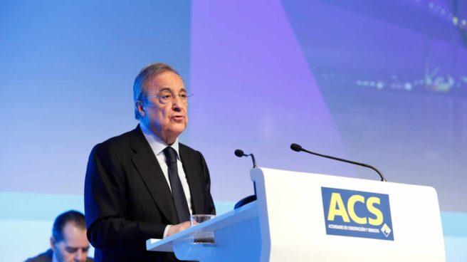 La escalada de ACS eleva el valor de las acciones de Florentino Pérez hasta los 1.500 millones de euros.