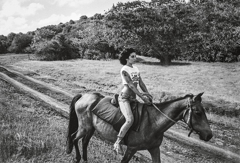 Amy, por Blake Wood. Una de las fotografías inéditas que publica Tachen.