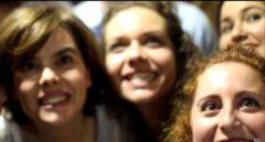 Mujeres del PP protagonizan un vídeo de apoyo a Soraya Sáenz de Santamaría