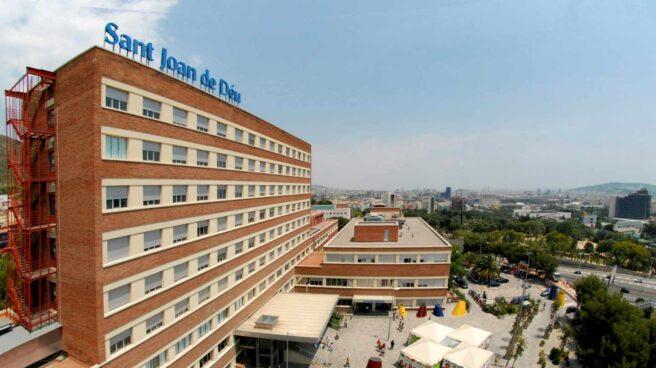 Hospital Sant Joan de Deu en Barcelona, uno de los que abrirán sus UCI 24 horas.