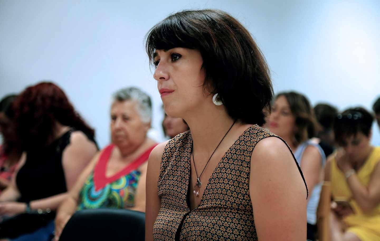 Juana Rivas en el Juzgado de Granada