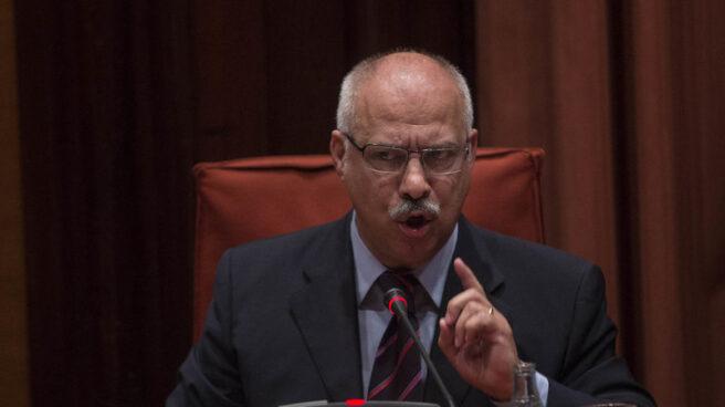 El exdiputado del PSC Luis García, en el Parlament.