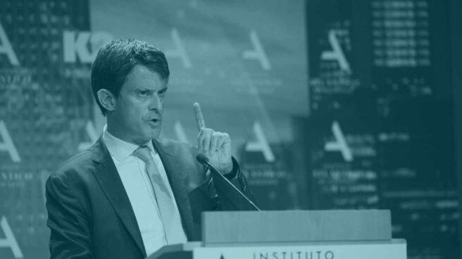 El ex primer ministro francés Manuel Valls.