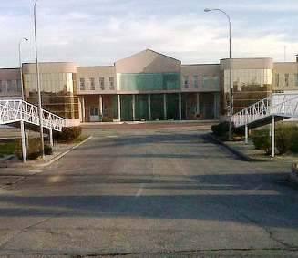 Fachada de la cárcel de Navalcarnero.