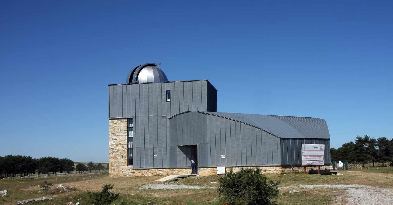 Observatorio astronómico, en Cantabria.