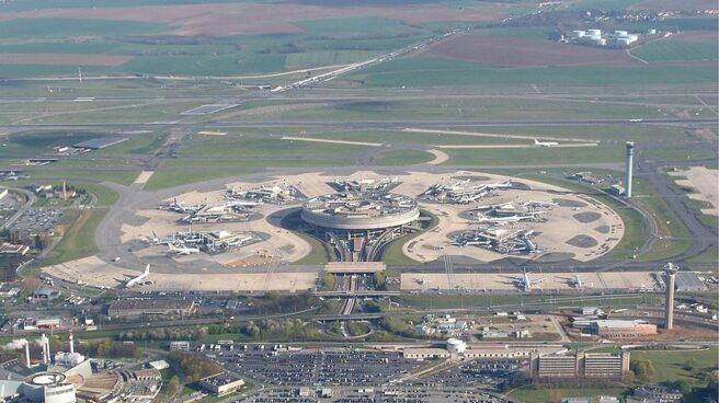 El aeropuerto de París-Charles de Gaulle.