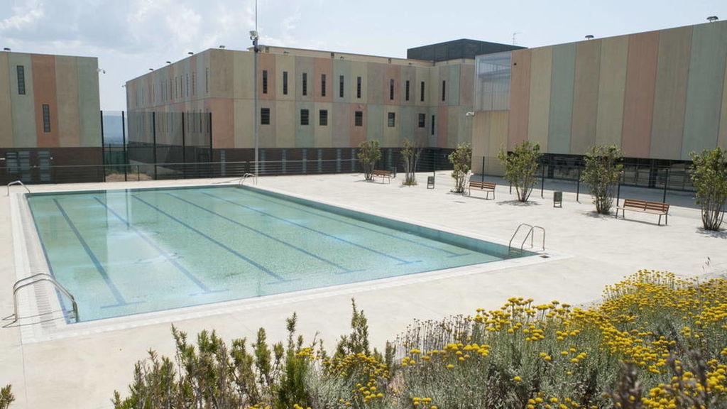 Piscina de la cárcel de Figueres, Girona.