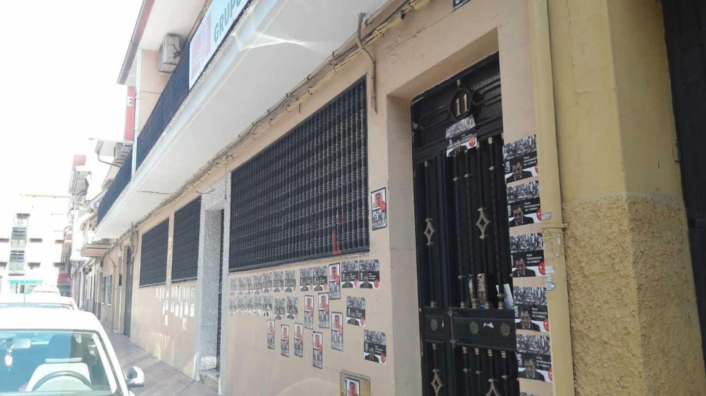 La sede del PSOE en Getafe.