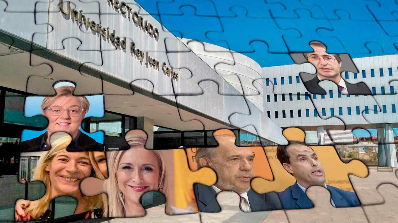 El puzzle de la Universidad Rey Juan Carlos