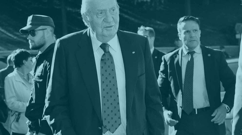 El Rey emérito don Juan Carlos I.
