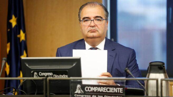 Ángel Ron, ex presidente de Banco Popular, en el Congreso