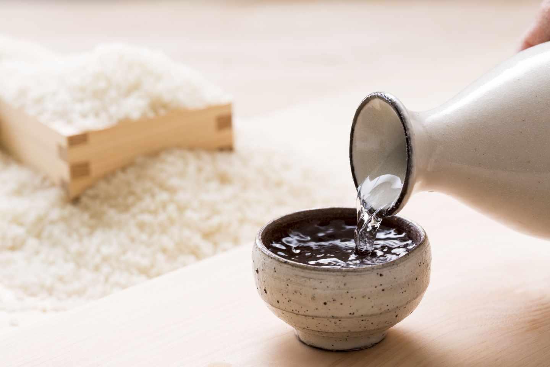 El tradicional sake japonés