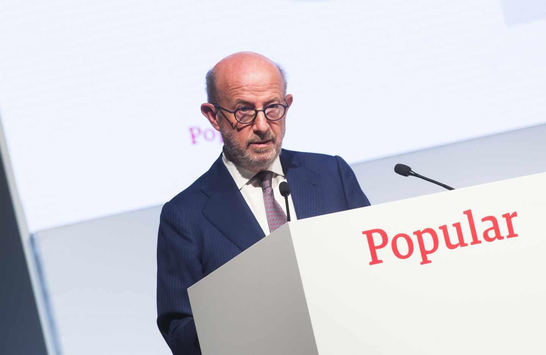 Emilio Saracho, ex presidente de Popular.