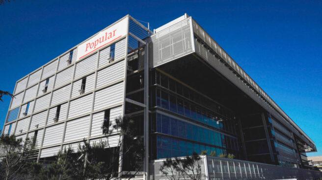 Santander gasta más de 10 millones en reformar la flamante sede de Popular.