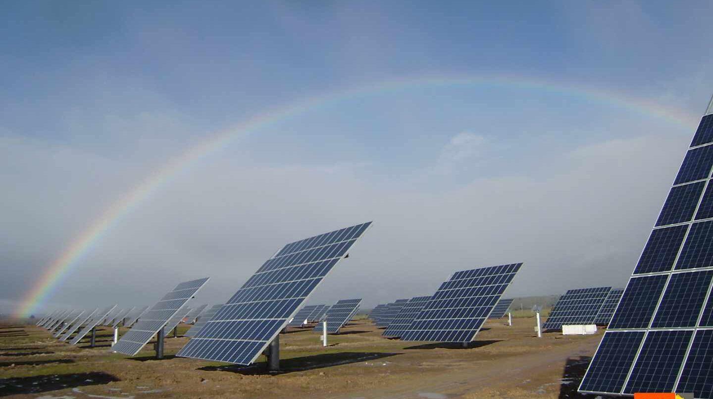 Planta solar fotovoltaica deTejeda de Tietar, construida por Solarpack.