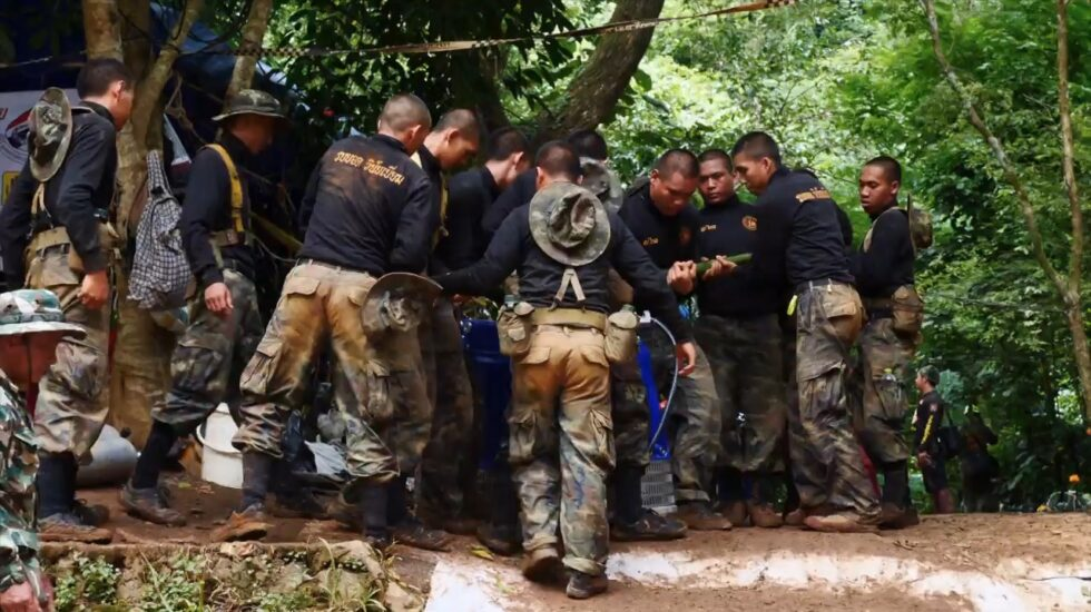 Rescate de los niños atrapados en la cueva tailandesa.