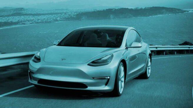 Vehículo Tesla Model 3.