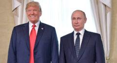 Donald Trump y Vladimir Putin en Helsinki