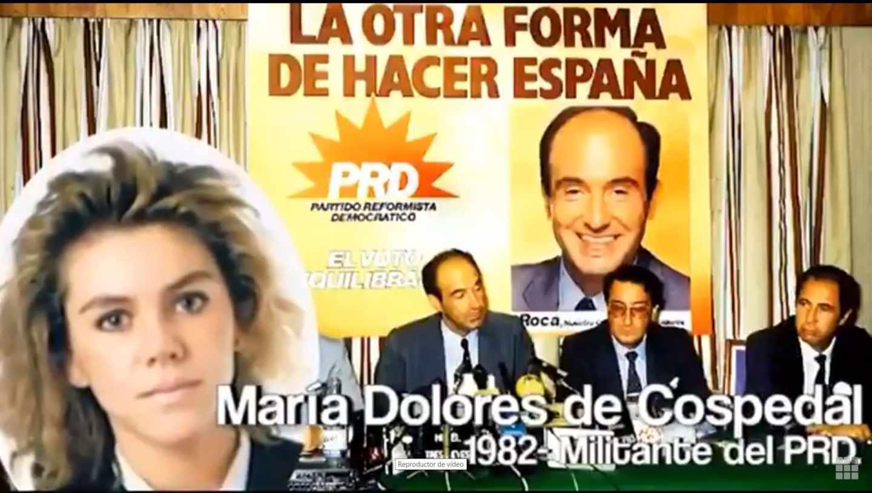 Fotograma del vídeo contra Pablo Casado.