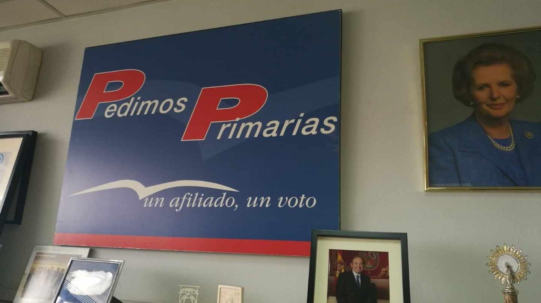 Imagen de la sede del PP del distrito de Salamanca de Madrid