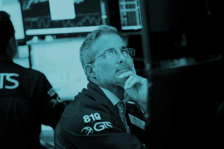 Operador de la Bolsa de Nueva York.